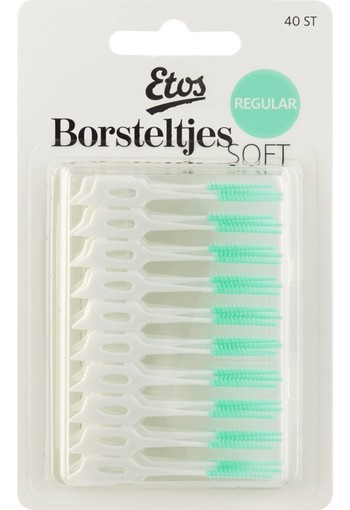 Etos Borsteltjes Soft Regular