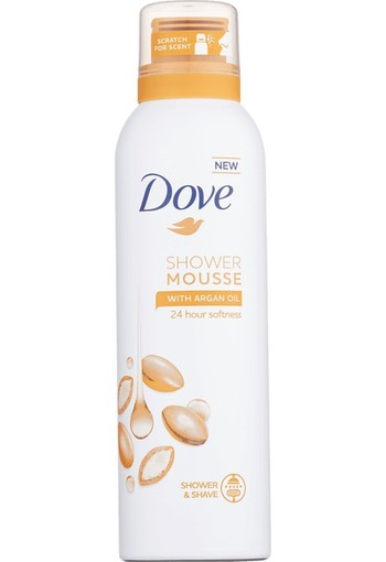 Dove Argan Oil Shower & Shave Mousse 200 ml