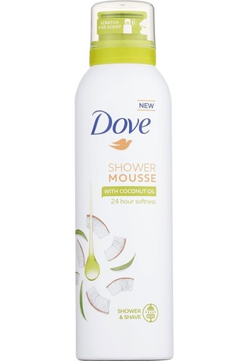 Dove Coconut Oil Shower & Shave Mousse 200 ml