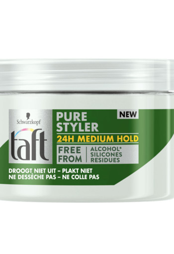Taft Gel Pure Styler Medium Hold 150 ml