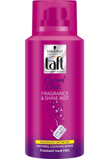 Taft Hairspray Casual Chic Fragrance & Shine Mist 100 ml