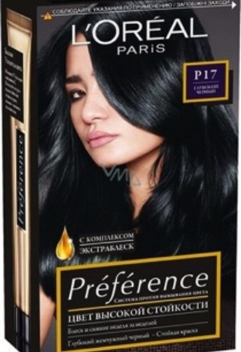 Loreal Preference P17 black bronz (1 set)