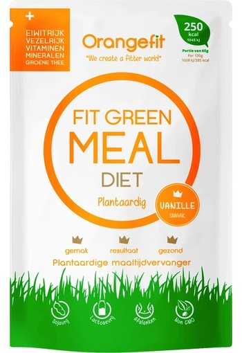 Orange Fit green meal diet vanille 250kcal 65 gr.