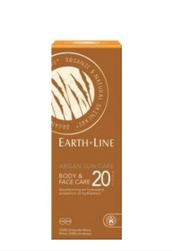 Earth-Line Argan bio sun face en body (150 ml)