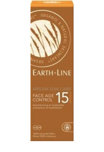 Earth-Line Argan bio sun face F15 (50 ml)