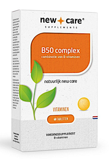 New Care B50 complex combinatie van B-vitaminen  60 tabletten