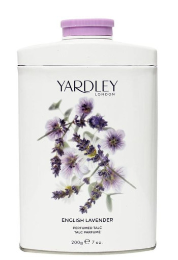 Yardley Lavender talc tin (200 gram)