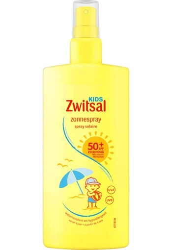 Zwitsal Kids Zonnespray SPF50+ 200 ml