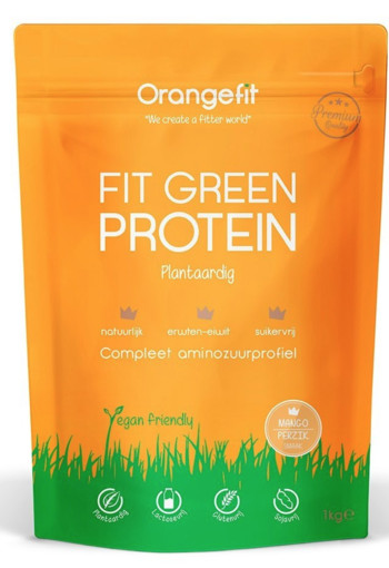Orange Fit Fit Green Protein Mango 1000 gram