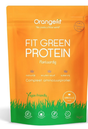 Orange Fit Fit Green Protein Vanille 1000gr