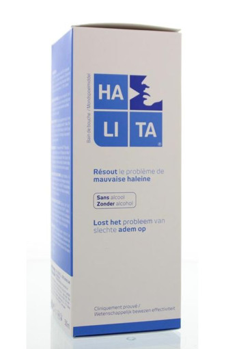 Halita Mondwater (gorgel) (500 ml)