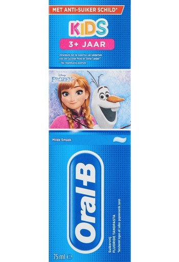 Oral-B Kinder Frozen & Cars Tandpasta 75 ml