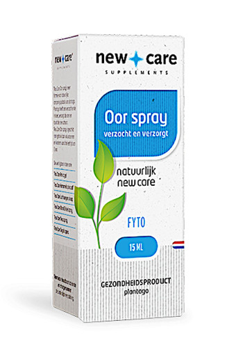 New Care Oor spray verzacht en verzorgt Inhoud  15ml