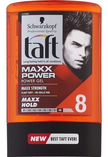 Schwarzkopf Taft Maxx Power Gel Tottle 300 ml