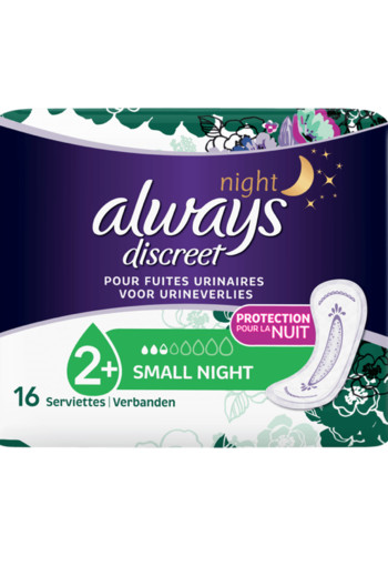 Always Discreet Small Night small night 16 stuks
