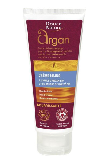 Douce Nature Handcreme argan (60 ml)
