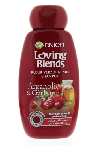 Garnier Loving blends shampoo cranberry (250 ml)