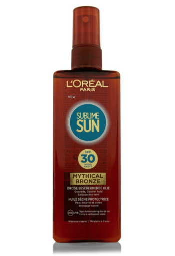 Loreal Sublime sun mythical bronze oil SPF (150 ml)