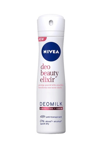 Nivea Deo Beauty Elixir Deomilk Sensitive Spray 150 ml