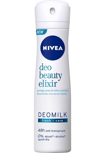 Nivea Deo Beauty Elixir Deomilk Fresh Spray 150 ml