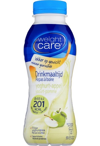 Weight Care Drink yoghurt & appel 330 ml