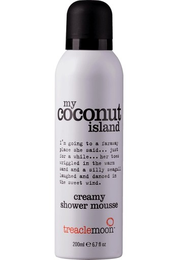 Treacle Moon My Coconut Island Creamy Shower Mousse 200 ml