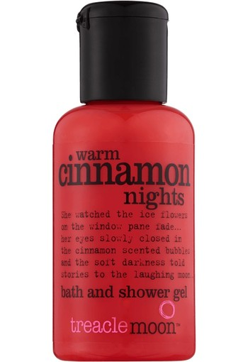 Treacle Moon Warm Cinnamon Nights Bath & Shower Gel Mini 60 ml