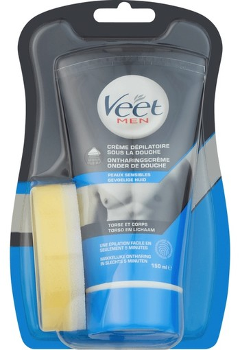 Veet Men In Shower Hair Removal Cream 150 ml