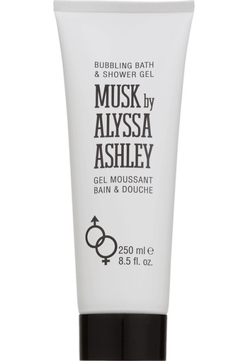 Alyssa Ashley White musk bath & shower 250 ml