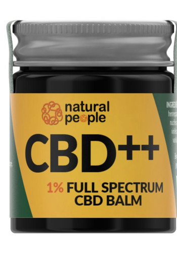 Natural People CBD Balm 1% (30 ml)