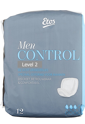 Etos Control Men Level 2 Incontinentieverband 12 stuks