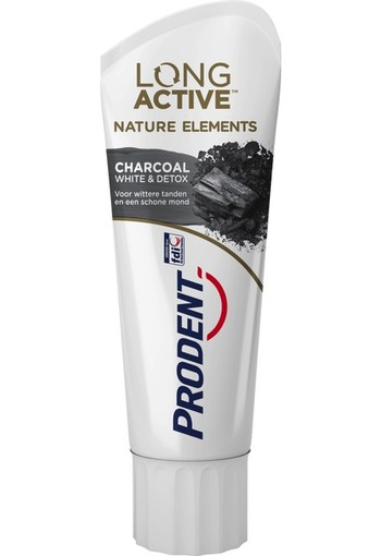 Prodent LongActive Charcoal Tandpasta 75 ml