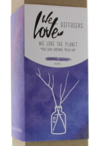 We Love Diffuser charming chestnut natural perfume (50 ml)