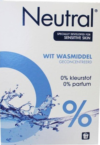 Neutral Waspoeder wit (1188 gram)