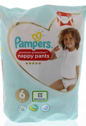 Pampers Premium protection pants maat 6 (16 stuks)