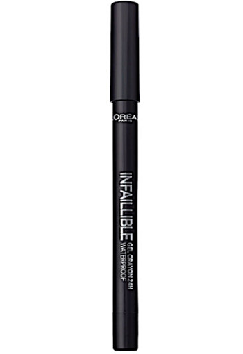 L'Oré­al In­fal­li­ble eye­li­ner gel­cray­on 01 black