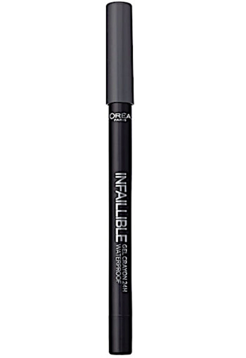 L'Oré­al In­fal­li­ble eye­li­ner gel­cray­on 02 grey