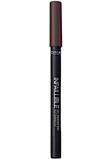 L'Oré­al In­fal­li­ble eye­li­ner gel­cray­on 03 brown
