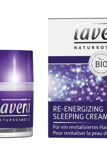 Lavera Nachtcreme/sleeping cream re-energizing F-D (50 ml)