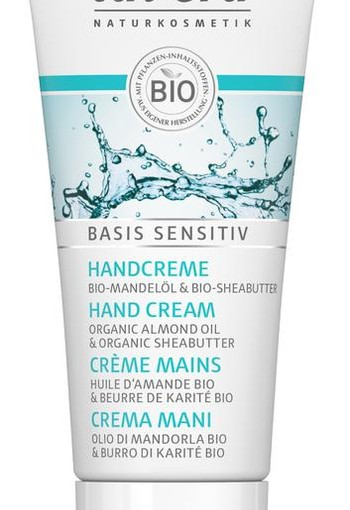 Lavera Basis Sensitiv handcreme/hand cream mini F-D (20 ml)