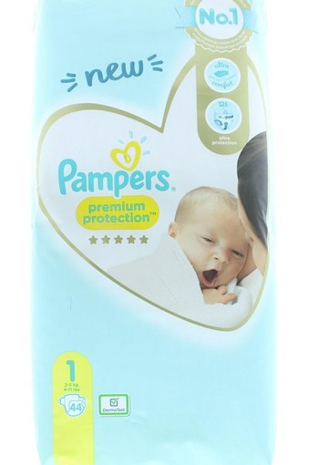 Pampers New baby newborn S1 (44 stuks)