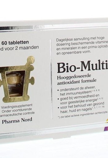 Pharma Nord Bio multi (60 tabletten)