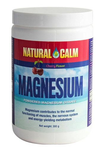 Natural Calm Magnesium cherry (300 gram)