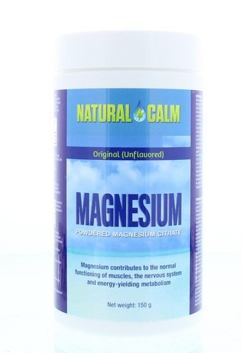 Natural Calm Magnesium original (150 gram)