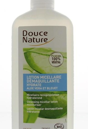 Douce Nature Reinigingslotion micellair aloe (250 ml)