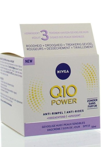 Nivea Q10 Power dagcreme SPF15 sensitive (50 ml)