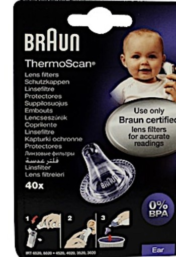 Braun Thermoscan Lensfilters Lf40 40st