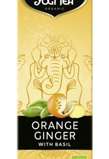 Yogi Tea Orange ginger cold tea (1 liter)