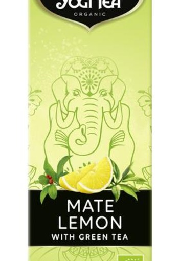 Yogi Tea Mate lemon cold tea (1 liter)