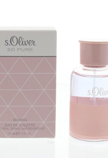 S Oliver So pure women eau de toilette (50 ml)